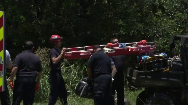SAFD: Man fighting for life after flipping golf cart into ravine