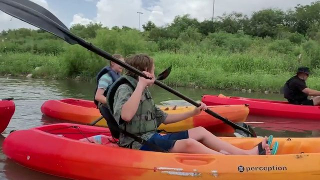 New Week, New You: Local kayaking company connecting people with San…
