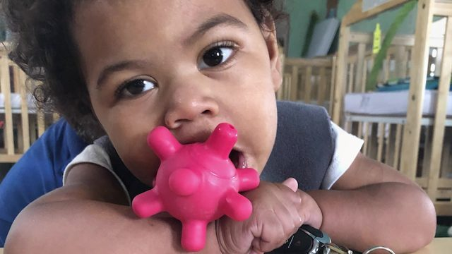 Mother describes son's disabilities one year after baby severely injured