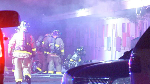 Red Cross assisting families after motel fire on NE Side