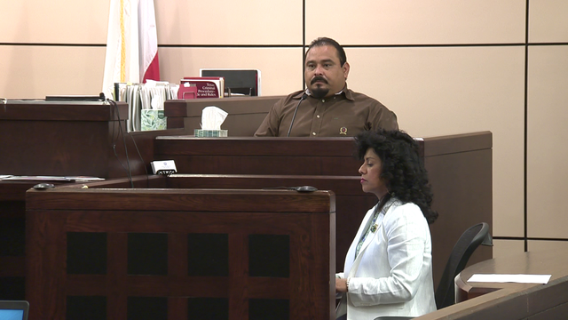 Murder defendant seen running from burning car, witness testifies