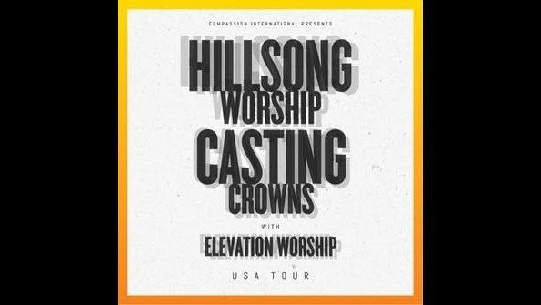Hillsong Worship, Casting Crowns, Elevation Worship bring 2019 USA tour…