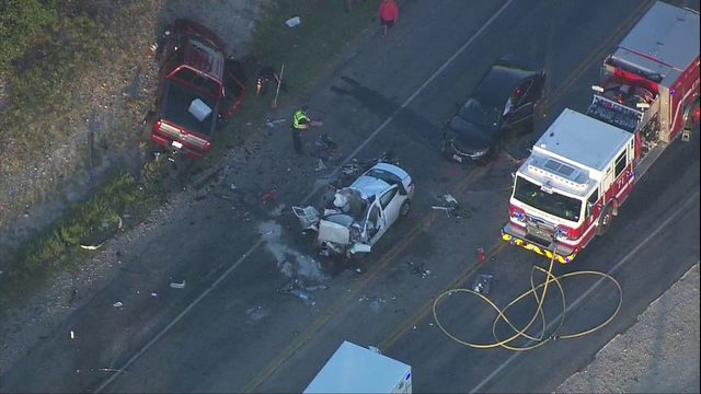 2 killed in multi-vehicle crash on State Highway 46