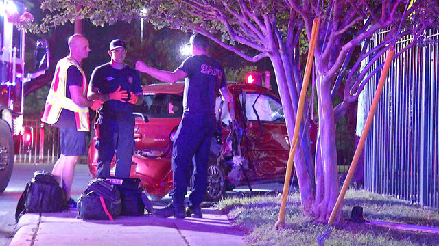 1 dead, 2 hospitalized after crash with pickup truck, police say