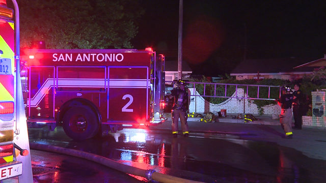 Explosion, fire forces couple out of South Side home