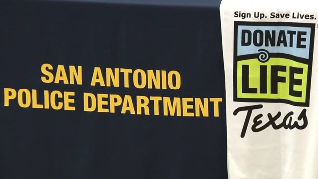 SAPD, Texas Organ Sharing Alliance hold organ donation drive to honor…