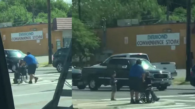VIA driver seen in viral video helping disabled woman, kids cross busy SA street