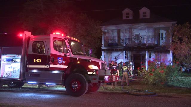 Fire outside Elmendorf home raising suspicions among investigators