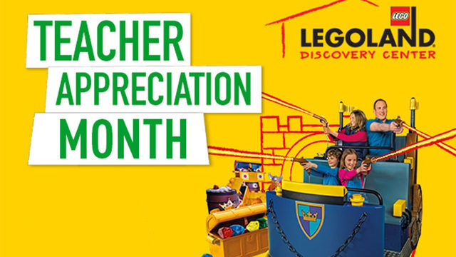 Free admission to LEGOLAND for teachers in August