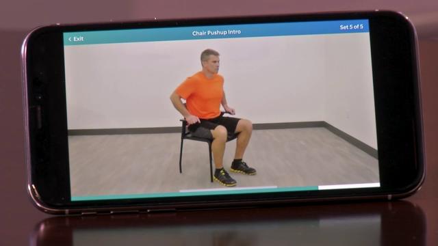 MyMobility app rehabs patient's knee