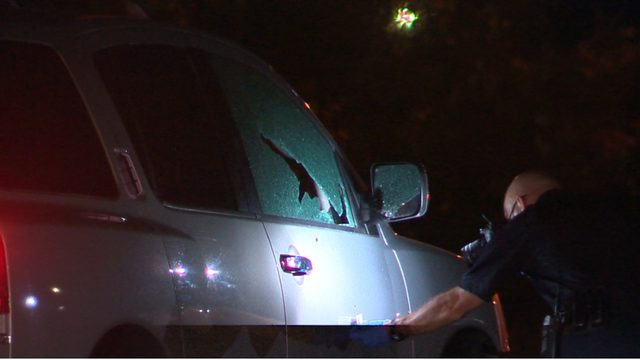 Local family shaken up after road rage shooting