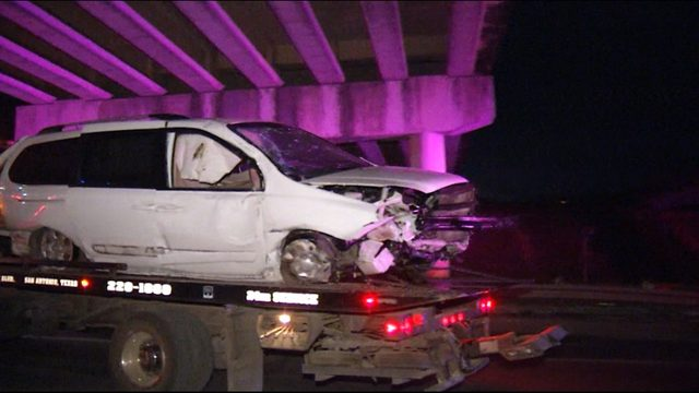 Woman falls asleep at the wheel, drives off bridge, police say