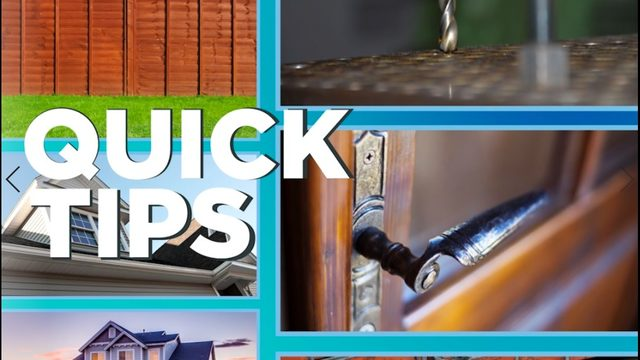 Quick Tips: protecting your home from burglars