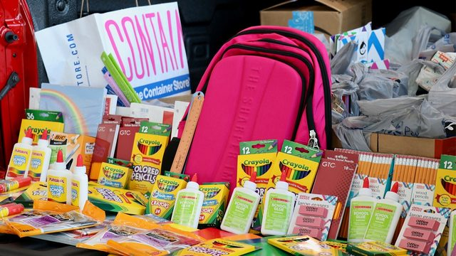 Slideshow: KSAT Community Stuff the Silverado School Supply Drive
