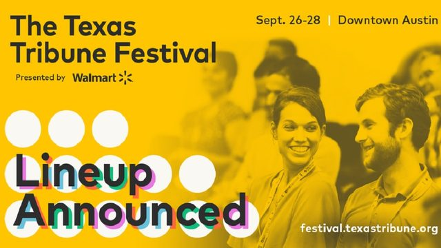 Texas Tribune Festival releases full line-up