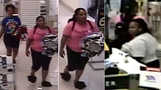Police seek suspects in clothing theft at North Star Mall