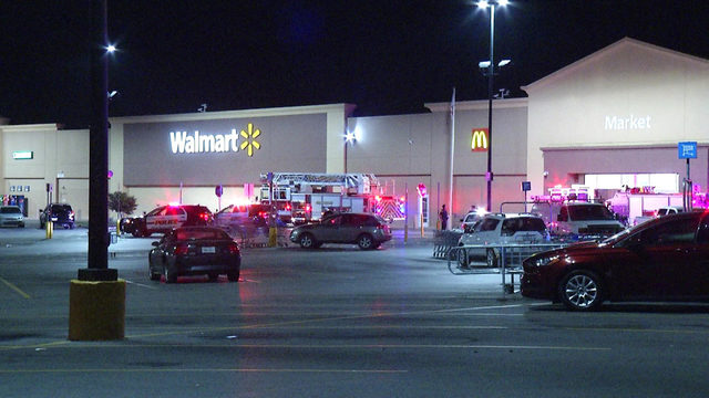 Fire forces evacuation of North Side Walmart