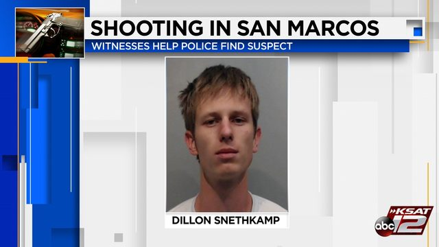 Witnesses follow man who shot at vehicle after botched drug deal in San Marcos