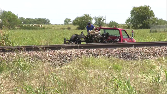 Amtrak train crashes in Guadalupe County