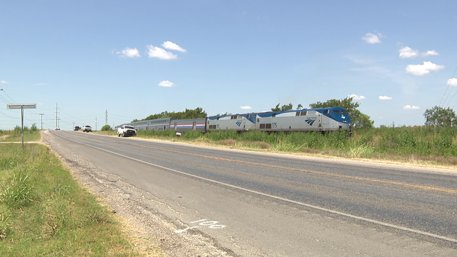 Pickup truck driver killed in crash with Amtrak train in Guadalupe County