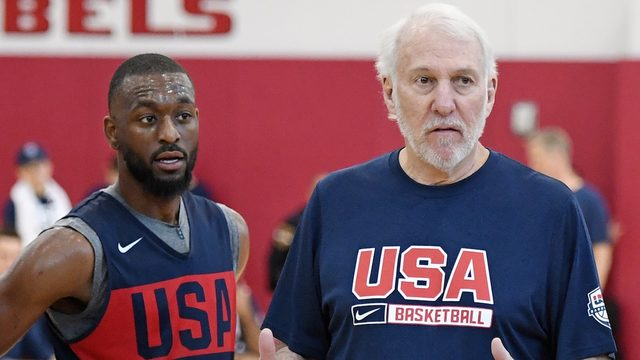 For Gregg Popovich, unity over 'divisiveness' is goal for Team USA