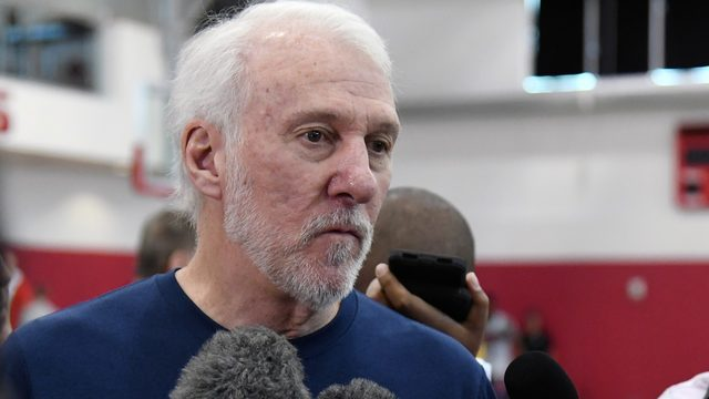 Popovich calls on Congress to get 'off their a--es' after latest mass shootings