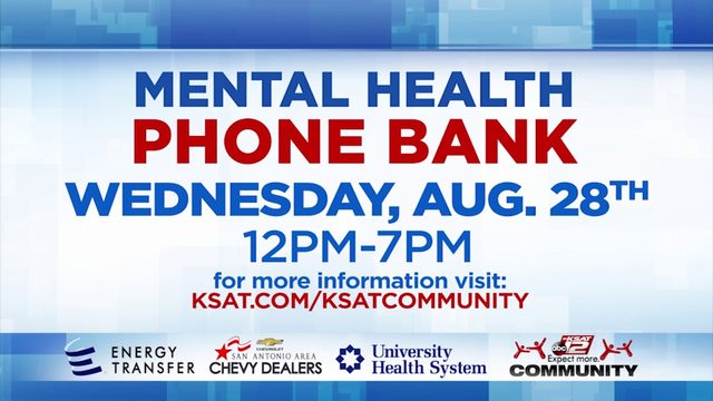 KSAT Community Mental Health Phone Bank