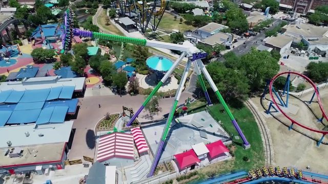 WATCH: Joker Carnival of Chaos get set to open at Six Flags