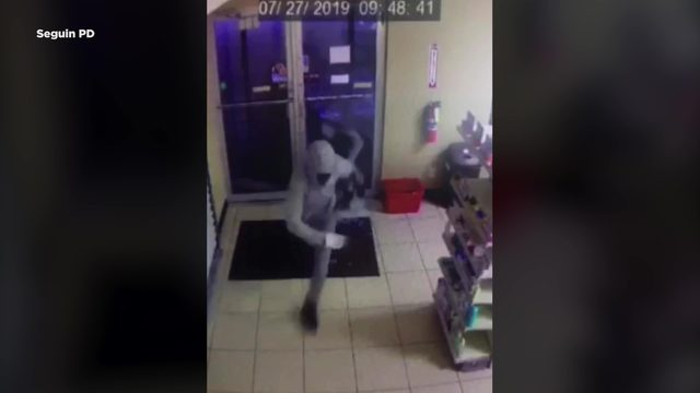 Seguin police seek trio who broke into pharmacy, medical supply store
