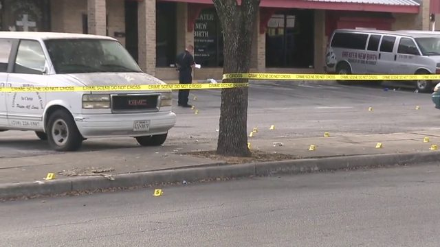 More than 30 shots fired in North East strip mall, police say