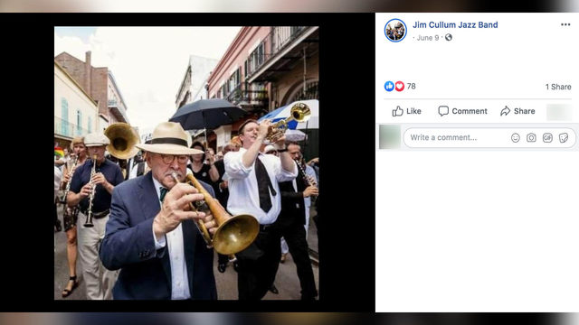 Local jazz legend Jim Cullum Jr. dies at 77