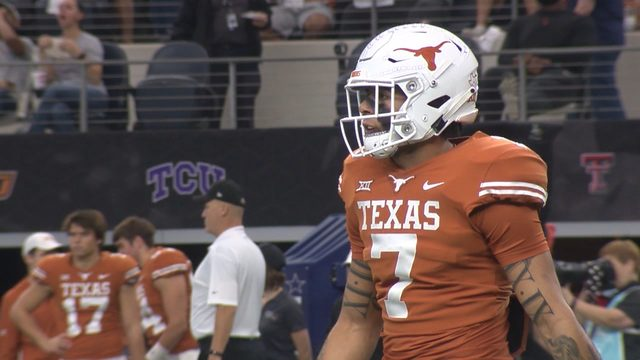 Caden Sterns suffers ankle sprain during Longhorns scrimmage