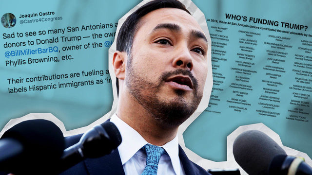 Threats against Joaquin Castro prompt law enforcement agencies to…