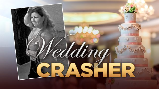 'Wedding crasher' leaving local couples anything but happy