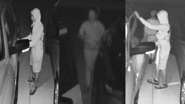 Cibolo police seek pair in weekend vehicle burglaries
