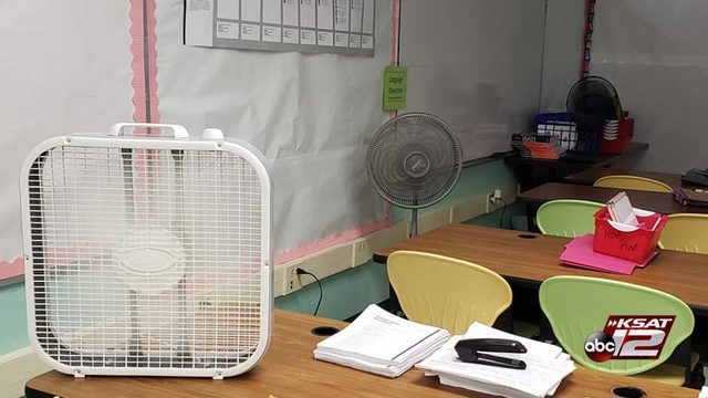 At least 3 SAISD schools dealing with A/C issues Tuesday as students return