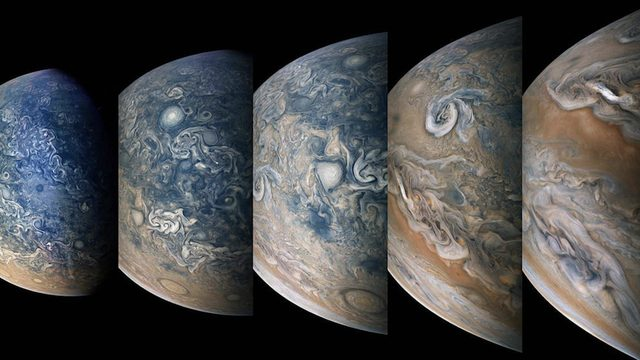 NASA's Juno mission to Jupiter continues to produce stunning images