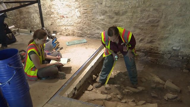 Archaeological dig at Alamo underway