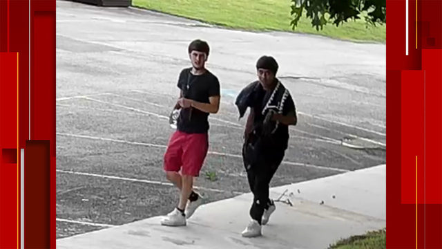 Duo sought in San Antonio church burglary