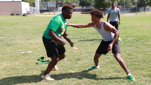 East Side duo raising Sam Houston football to next level, inspiring community