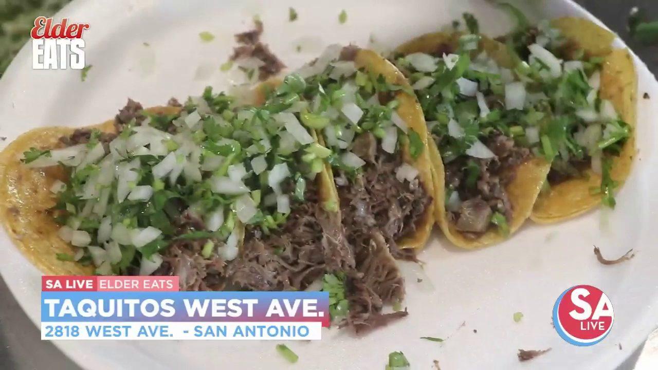 Elder Eats Taquitos West Ave