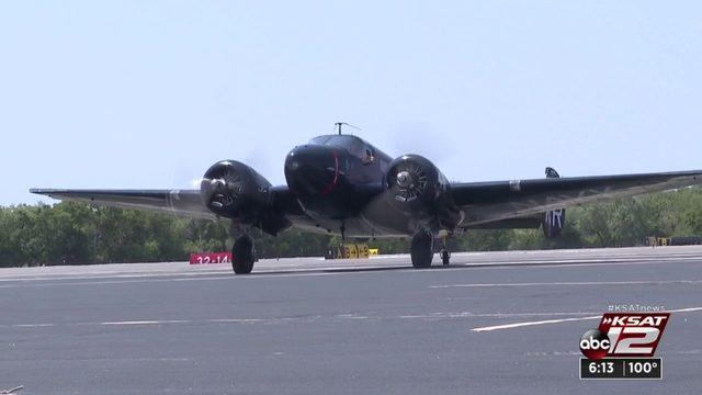 World War II combat veteran takes control of historic aircraft