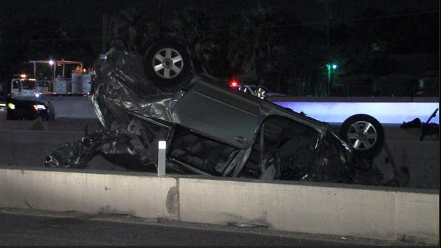 2 women in critical condition after high-speed crash that launched SUV…