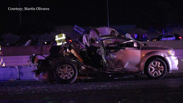 Woman dies at hospital following high-speed crash