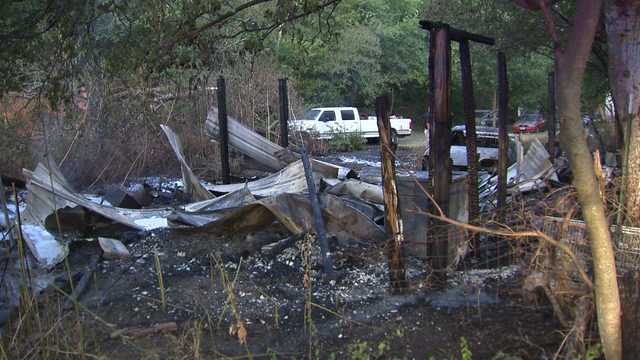 2 fires behind vacant home in South Bexar County labeled 'suspicious'