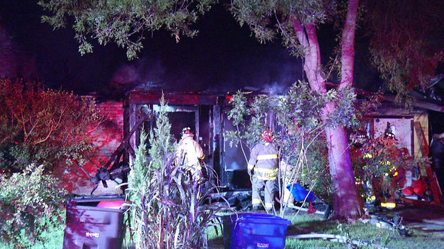 SAFD: SW Side family returns home, watches house be destroyed by fire