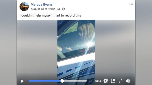 Viral video appears to show Texas officer texting, driving patrol car…