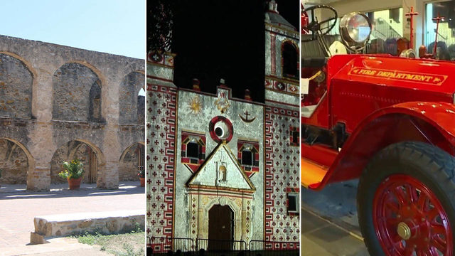 Free professional tours offered at these San Antonio landmarks on Sept. 21