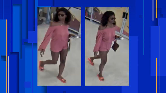New Braunfels police seek woman caught using stolen credit cards at…