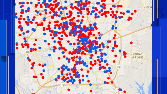 Overgrown yards, graffiti, potholes: Where do the most 311 reports come…